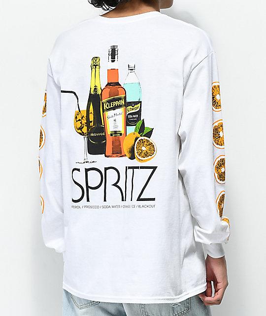 2509f57d35a8 Skate Mental Spritz White Long Sleeve T-Shirt