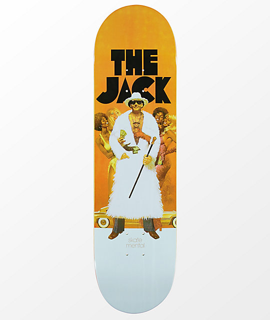 "Skate Mental The Jack Curtain 8.375"" Skateboard Deck"