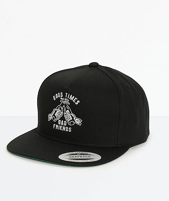 Sketchy Tank Good Times Snapback Hat
