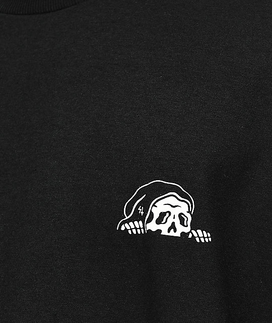 Sketchy Tank Lurking Class Black Long Sleeve T-Shirt