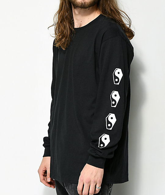 Sketchy Tank Lurking Class Karma 2 Black Long Sleeve T-Shirt