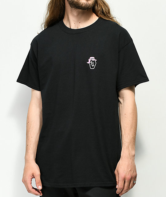 Sketchy Tank Lurking Class Nazar 2 Black T-Shirt