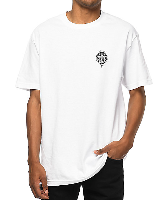 sketchy tank mask white t shirt zumiez
