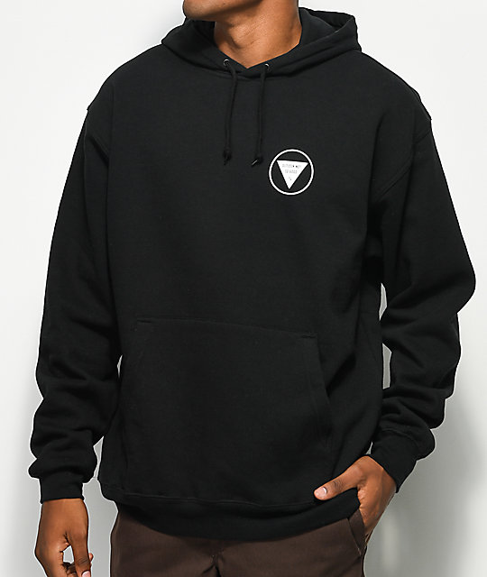 Sketchy Tank Outlook Black Hoodie
