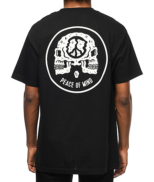 Sketchy Tank Peace Of Mind camiseta negra