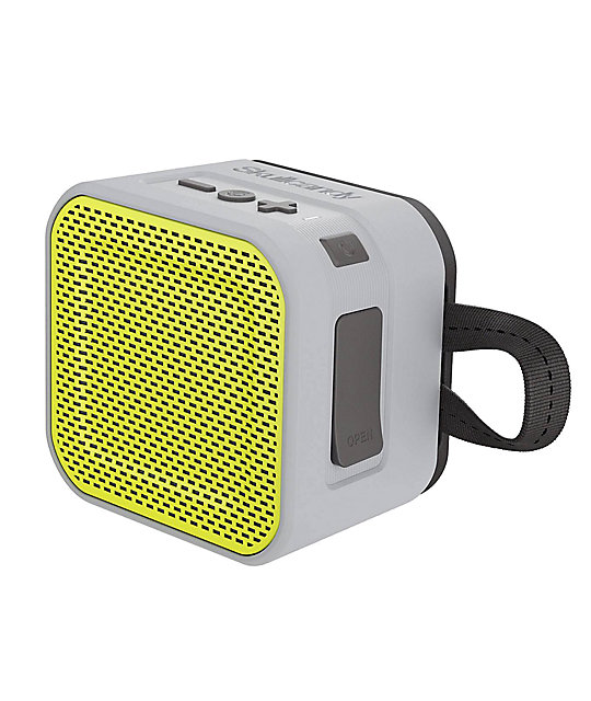 Skullcandy Barricade Mini Bluetooth Grey & Lime Speaker