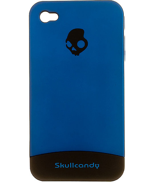Skullcandy Blue & Black Slider iPhone 4 Case