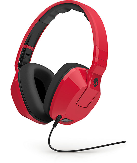 Skullcandy Crusher Red Headphones