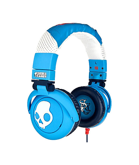 Skullcandy GI Shoe Blue Headphones