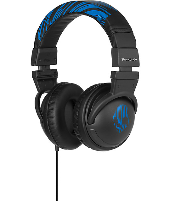 Skullcandy Hesh Black & Blue Headphones