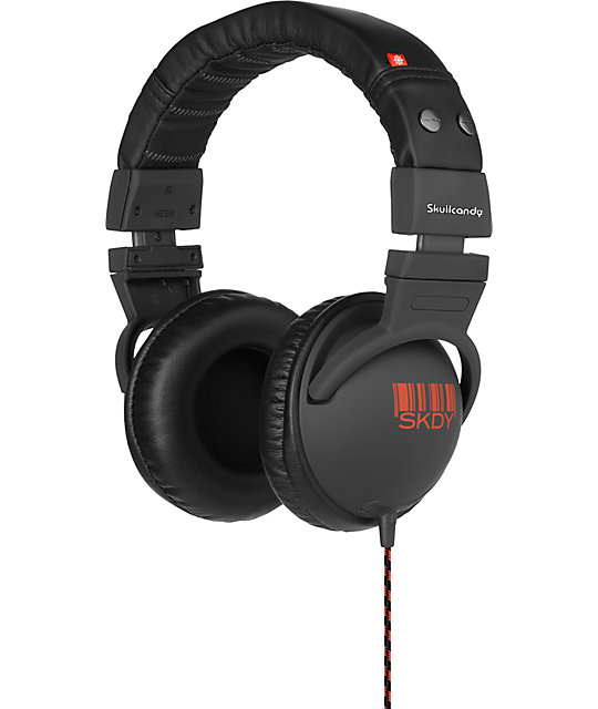 Skullcandy Hesh Carbon & Red Headphones