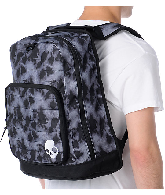 Skullcandy Player Black & Grey Backpack