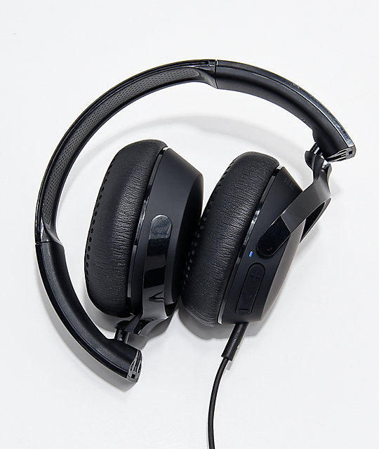 Skullcandy Riff Black On-Ear Headphones
