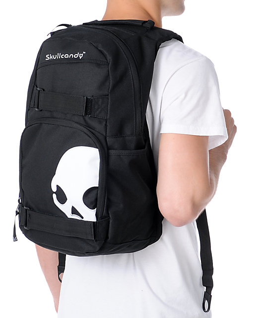Skullcandy Skulldaylong2 Black Skate Skate Backpack
