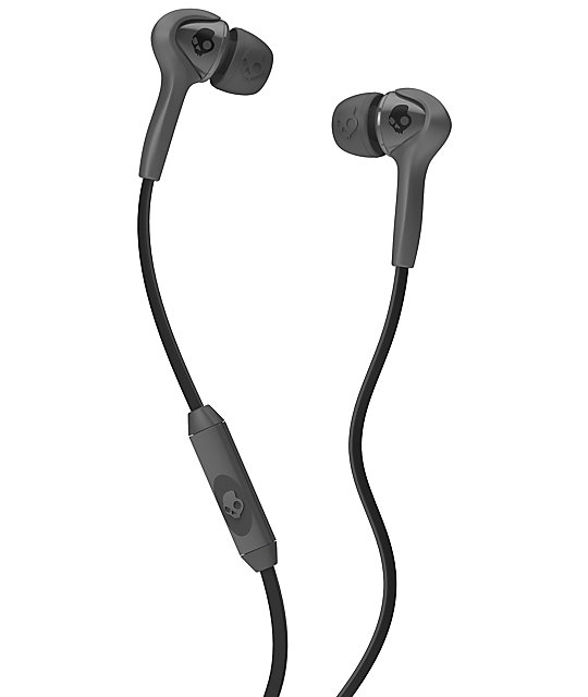 Skullcandy Smokin Buds Charcoal & Black Earbuds