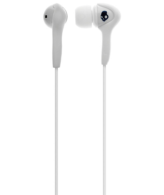 Skullcandy Smokin Buds White Earbuds