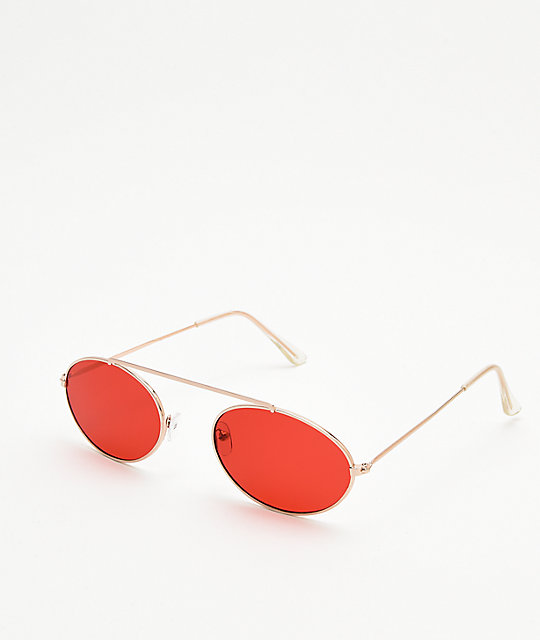 Slam Jam Red Sunglasses