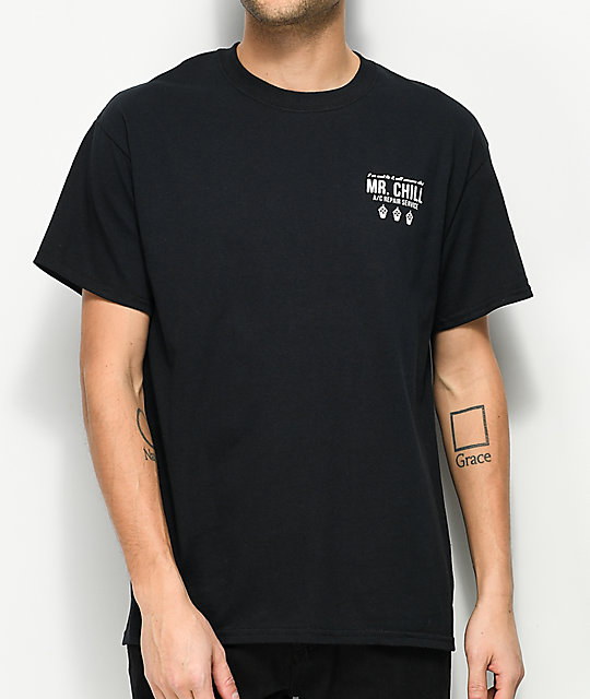 Slushcult Mr. Chill Black T-Shirt