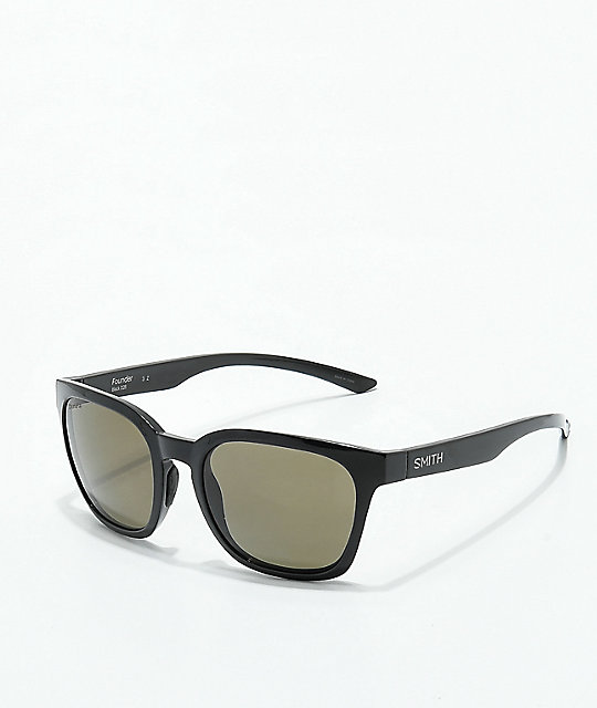 Smith Founder Black Polarized Sunglasses