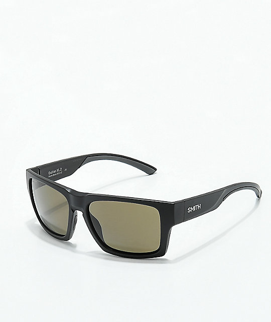 Smith Outlier XL 2 Matte Black Polarized Sunglasses