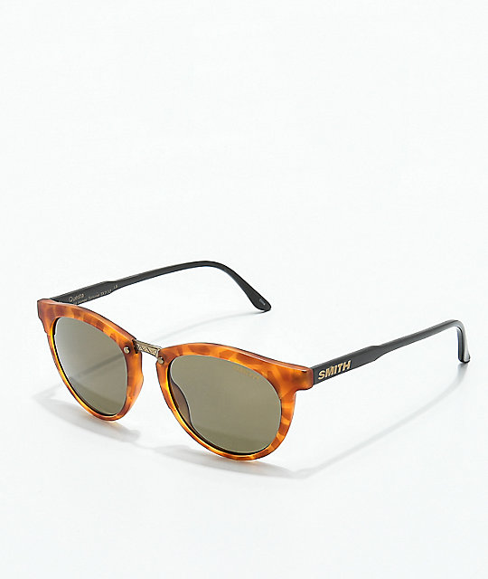 54a17be251 Smith Questa Matte Honey Tortoise Polarized Sunglasses