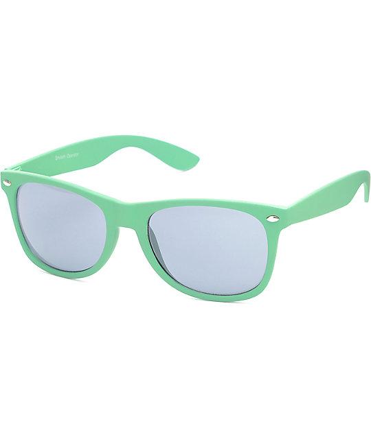 51208a5e03 Smooth Operator Green   Smoke Sunglasses