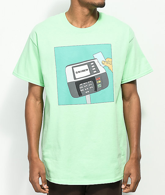 Some Hoodlum Broke Fam Mint T-Shirt
