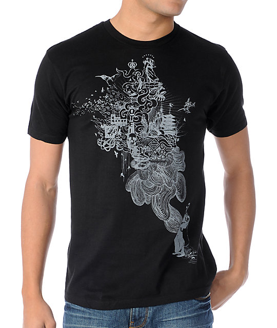 Spacecraft Maker Black T-Shirt