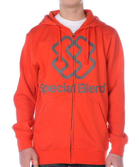 Special Blend Large Classic Burst Red Hoodie