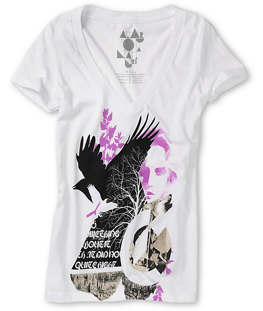 Spektrum Manufacturing Birds White T-Shirt