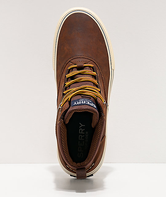Sperry Striper II Storm Brown & Tan Boots