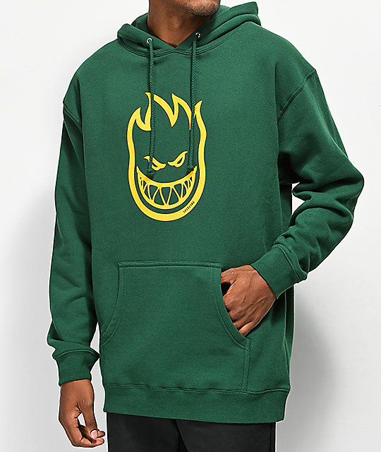 Spitfire Bighead Forest Green Hoodie by Spitfire