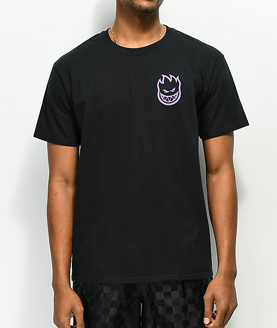 Spitfire Evan Smith Swirl Black T-Shirt