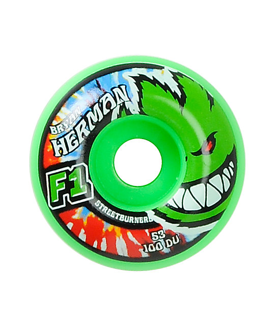 Spitfire Herman Krush Code F1 53mm Skateboard Wheels