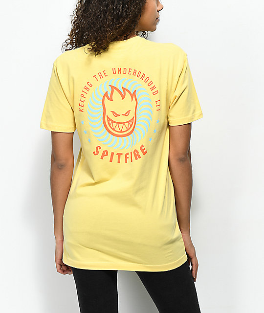 Spitfire KTUL Yellow T-Shirt