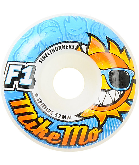 Spitfire Mike Mo Sunhaters 52mm Streetburner Skateboard Wheels