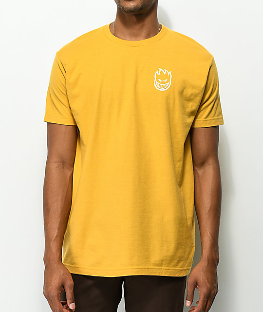 Spitfire Steady Rockin Yellow T-Shirt