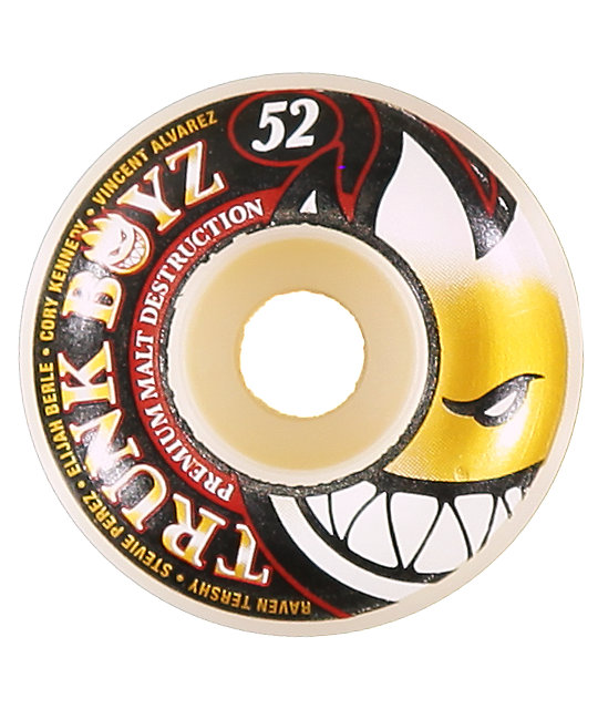 Spitfire Trunk Boyz 52mm Streetburner Skateboard Wheels