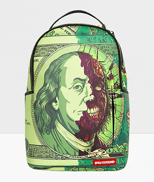5d30b33fce Sprayground Benzobomb Franklin Backpack