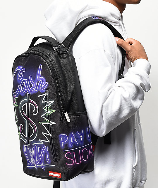 Sprayground Cash Only Backpack