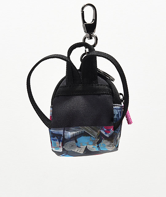 Sprayground Corn Row Kitty Backpack Keychain