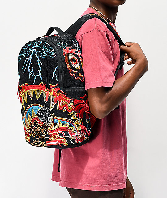 Sprayground Dragon Shark Nightmare mochila