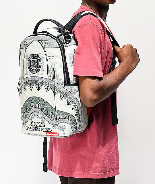 Sprayground One Hundred Shark mochila
