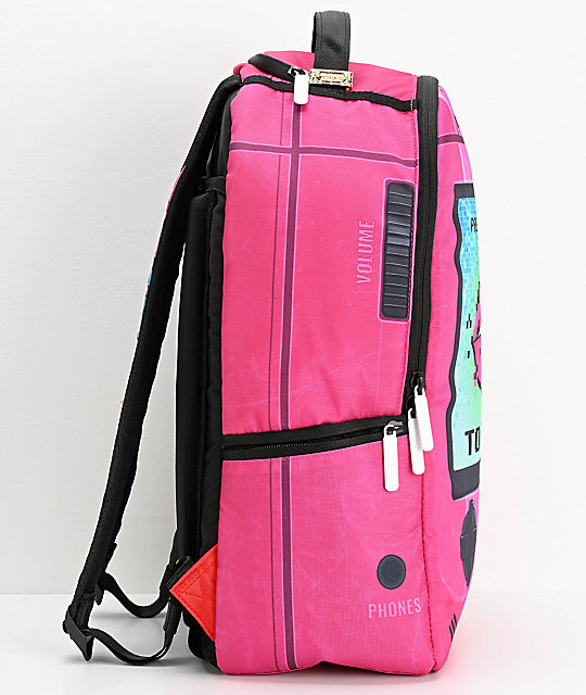 Sprayground Play Me Pink Backpack