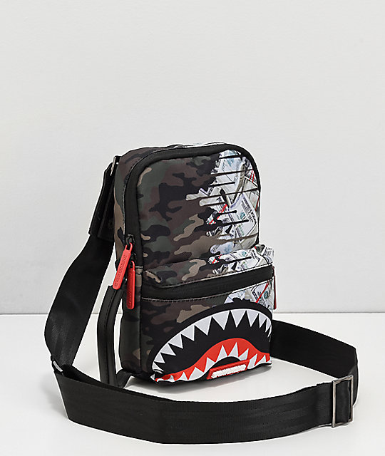 Sprayground Psycho Shark Crossbody Bag