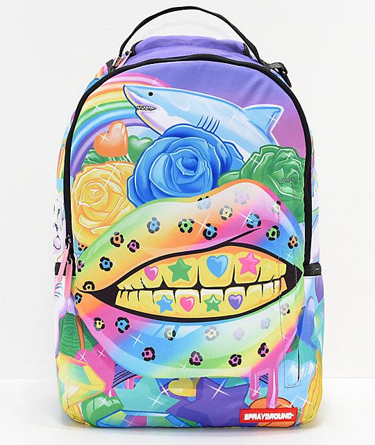 Sprayground Rainbow Life Lips Backpack