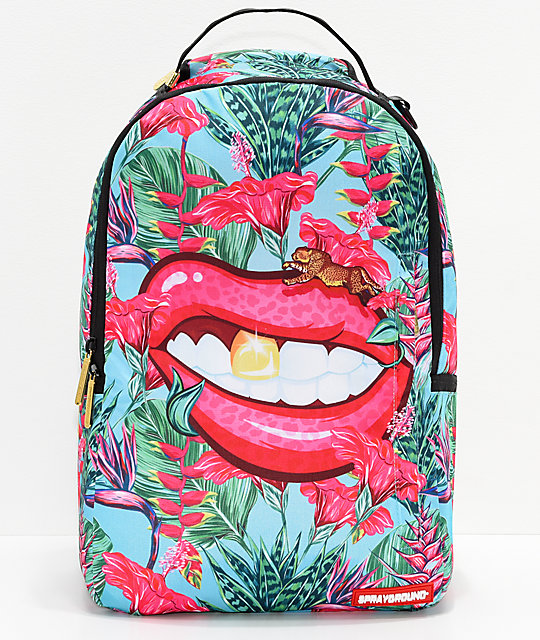 Sprayground Runnin' Wild Lips Backpack