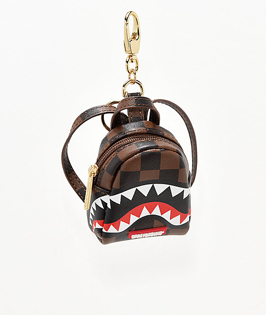 0a706239c930 Sprayground Sharks In Paris Keychain