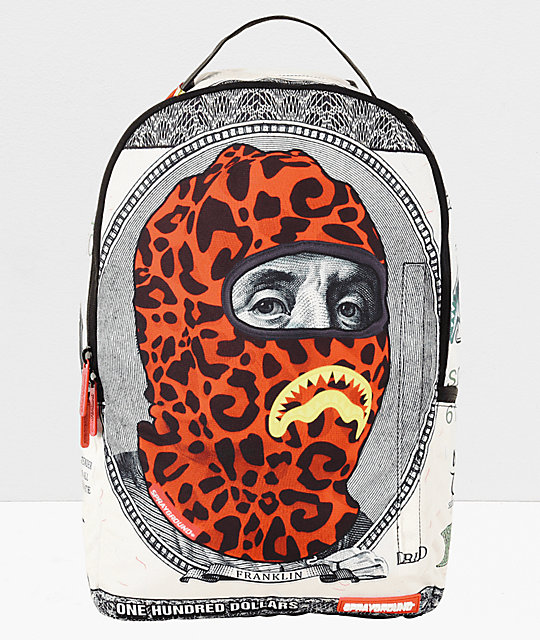 0c7993efac Sprayground Ski Mask Hunnid Backpack