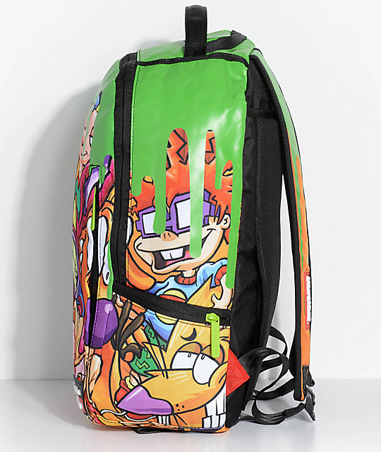 Sprayground x Nickelodeon 90s Slime Backpack